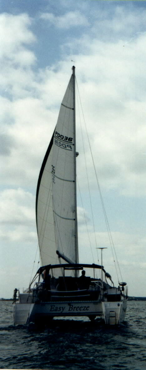 Easy Breeze, the PDQ 36 we sailed