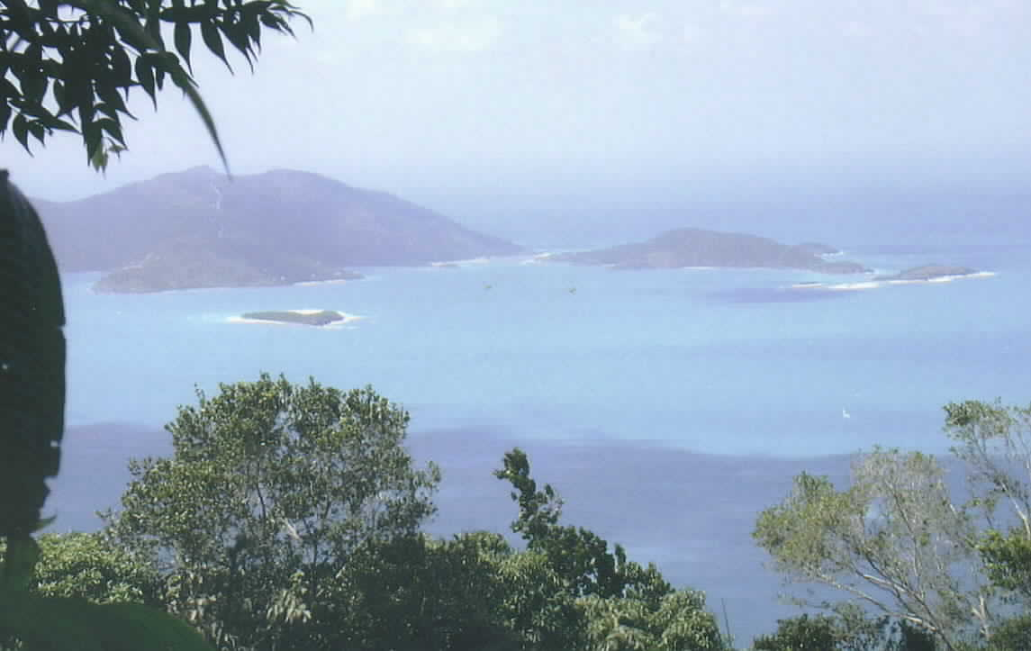 The view from Tortola's Mt. Sage